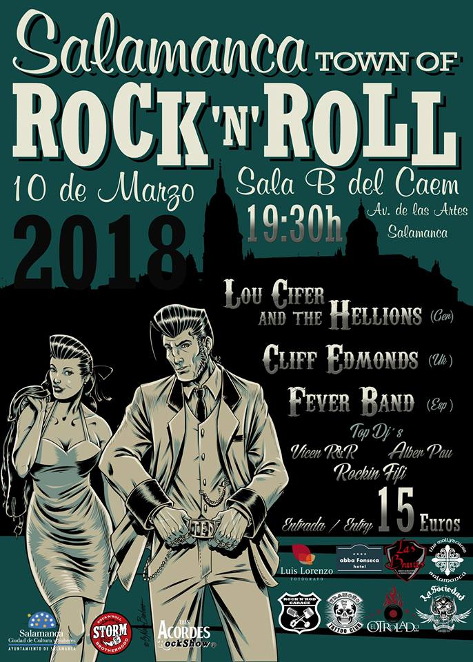 FEVER BAND en Salamanca Town of Rock 'n' Roll @ Sala B del Caem