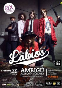 LOS LABIOS - Córdoba @ Sala Ambigú Axerquía Córdoba