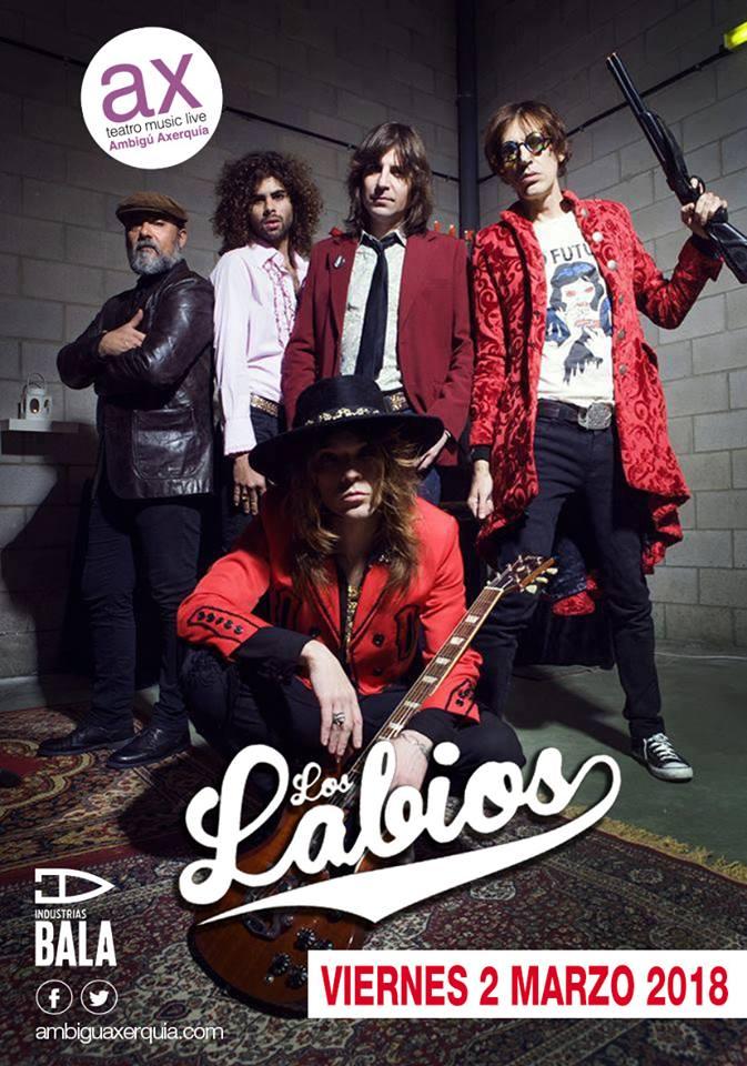 LOS LABIOS - Concierto en Sala Ambigú Axerquía @ Sala Ambigú Axerquía