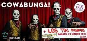 LOS TIKI PHANTOMS + Chingada's Sons @ Sala Ambigú Axerquía - Córdoba