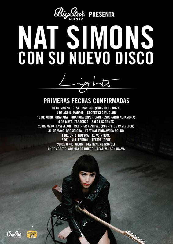 NAT SIMONS (Telonera Bryan Ferry) @ Teatro de la Axerquía - Córdoba
