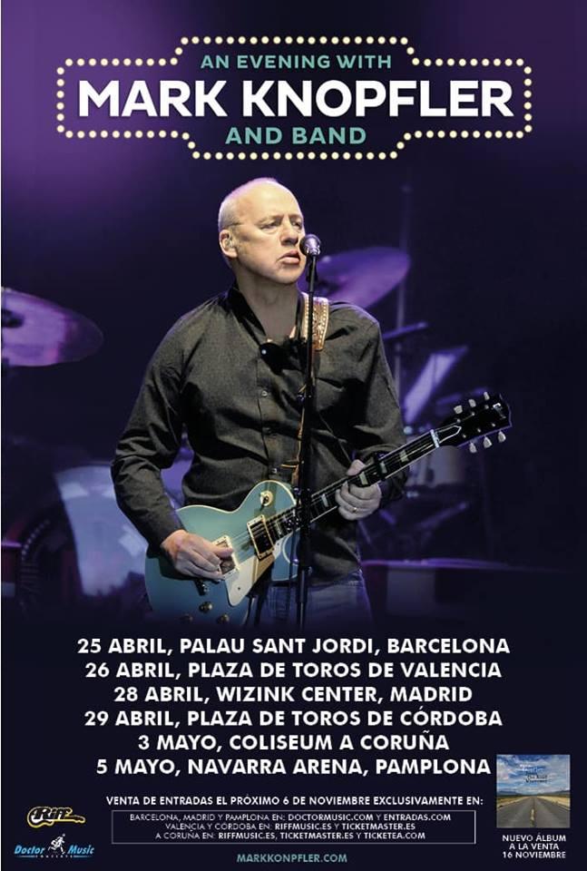 MAR KNOPLER @ Plaza de Toros de Córdoba