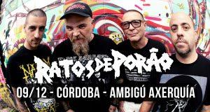 RATOS DE PORAO @ Sala Ambigú Axerquía Córdoba