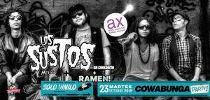 LOS SUSTOS + Ramen @ Sala Ambigú Axerquía Córdoba