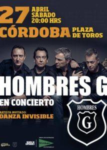 Hombres G + Danza Invisible @ Plaza de Toros de Córdoba