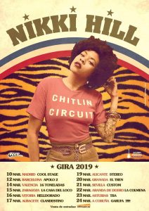 Nikki Hill @ Sala El Tren - Granada