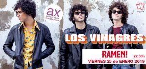 Los Vinagres + Ramen @ Sala Ambigú Axerquía Córdoba
