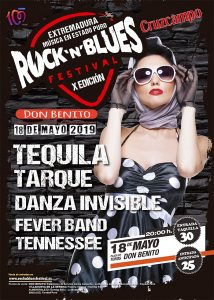 Rock'n'Blues Festival 2019 @ Plaza de Toros de Don Benito (Badajoz)