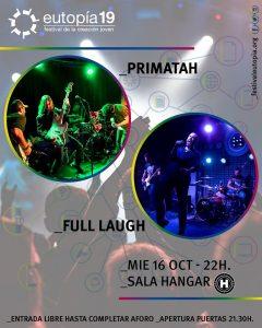 Primatah + Full Laugh @ Sala Hangar Córdoba