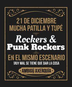ROCKERS & PUNK ROCKERS... @ Sala Ambigú Axerquía Córdoba