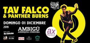 TAV FALCO & PANTHER BURNS @ Sala Ambigú Axerquía Córdoba