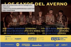 LOS SAXOS DEL AVERNO @ Sala Ambigú Axerquía de Córdoba