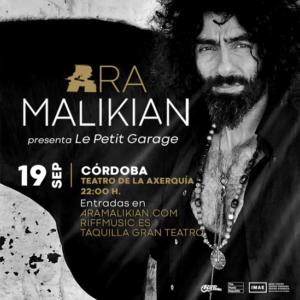 ARA MALIKIAN @ Teatro de La Axerquía de Córdoba