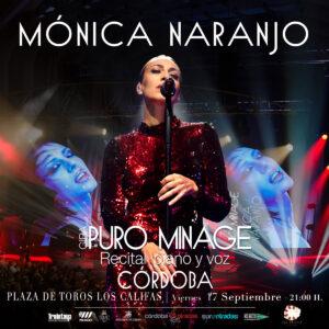 Mónica Naranjo @ Plaza de Toros de Córdoba