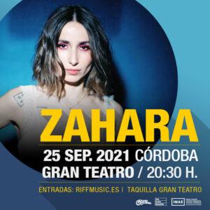 ZAHARA @ Gran Teatro de Córdoba