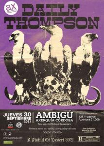 DAILY THOMPSON @ Sala Ambigú Axerquía Córdoba